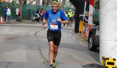 Joan Salvador Robert, l'atleta que serà homenatjat.