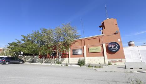 L'edifici de la discoteca The Hill a Gardeny.
