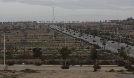 Imatge de la zona d'expansió de Torre Salses.