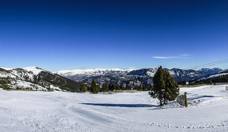 Dia de esqui increible en Port del Comte