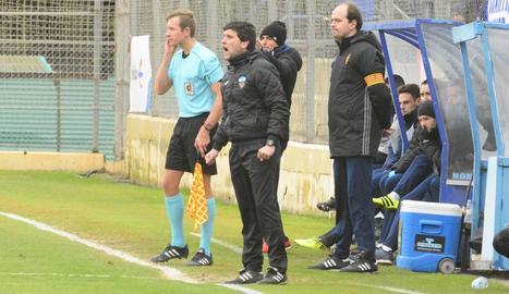 Gerard Albadalejo, el cap de setmana passat a la Ciutat Esportiva del Saragossa.