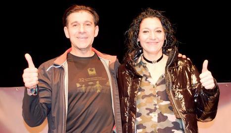 Rosamari Carulla i Sancho Ayala, campions de les Mitges de Ponent