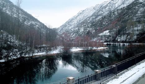 La neu domina el paisatge del Sobirà aquets dies.