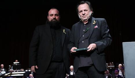 Sanuy va guanyar el premi de poesia amb 'L'ordre de les coses'.