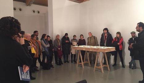 Visita guiada a la Biennal d'Art Leandre Cristòfol a la Panera de Lleida