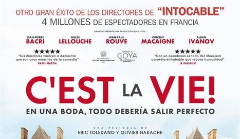 Cartell de la pel·lícula francesa 'C'est la vie!'