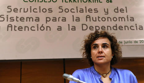 La ministra de Sanitat, Dolors Montserrat.