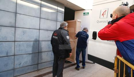 Tècnics del Govern d'Aragó han recollit la peça, l'última del litigi que restava per entregar
