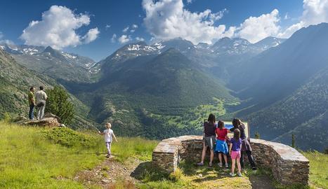 Una vista del Parc Natural de l'Alt Pirineu.