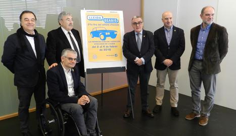 L'acte de presentació de Lleida Ocasió.