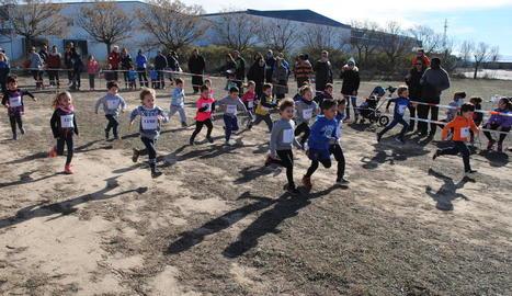 El Cros Intercomarcal del Pla d'Urgell reuneix 350 participants