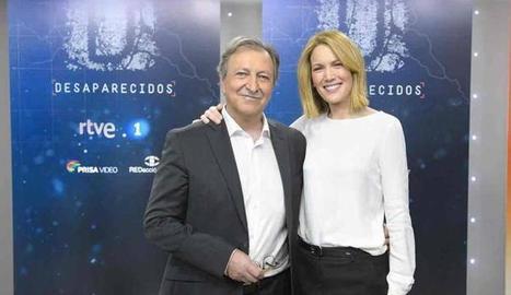 Paco Lobatón i Silvia Intxaurrondo.