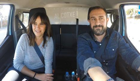 Melani Olivares puja 'Al cotxe'