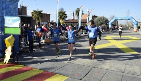 500 corredors a la Cursa de Sant Blai