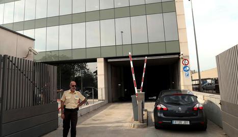 El centre de comunicacions de la Generalitat