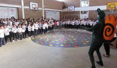 Els alumnes han comptat amb la visita del Banyetes