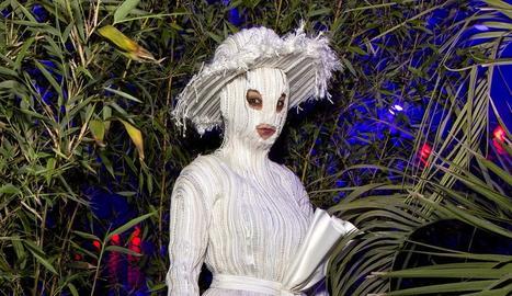 La cantant islandesa Björk va lluir així l'any passat a l'espectacle que va oferir al Sónar.