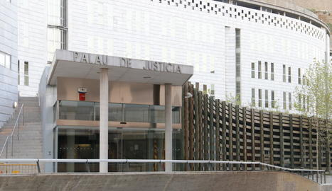 Imatge d'arxiu de la seu judicial al Canyeret.