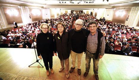 Un moment de la conferència de Ramon Cotarelo.