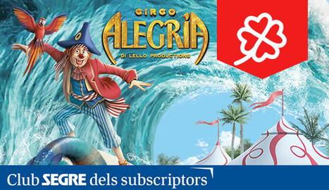 Cartell de l'espectacle 'Circo sobre agua' del Circo Alegría