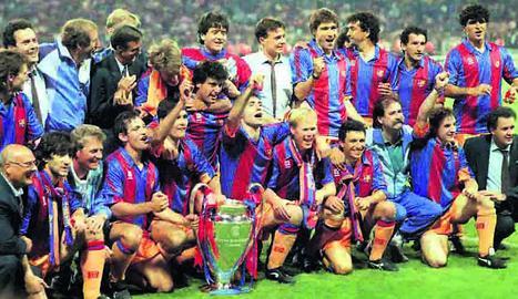 El Barça toca el cel per primera vegada