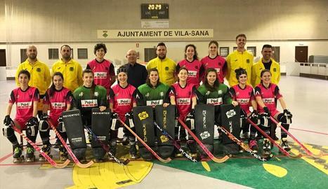 El Vila-sana es va fer ahir la fotografia oficial de la temporada 2017-18.