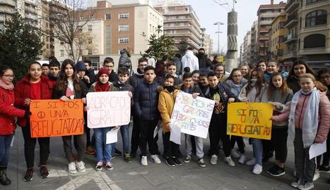 El col·legi Joan Maragall de la Bordeta va organitzar una caminada amb les famílies.