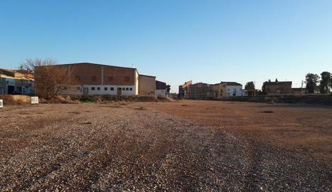 Els terrenys on es preveu construir el centre de dia.