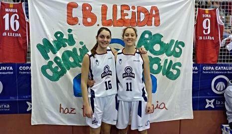 Maria Cerqueda i Rous Tous van representar el club a l'All Star.