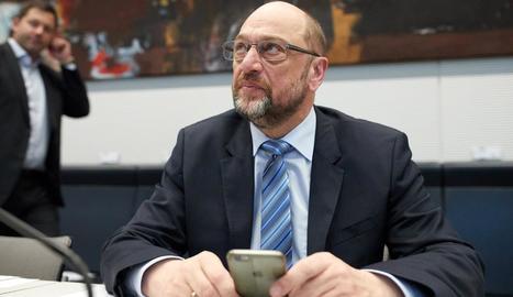 El líder del Partit Socialdemòcrata alemany (SPD), Martin Schulz.