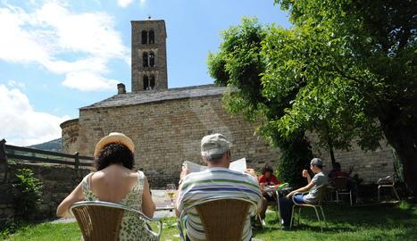 Turistes a l'Alta Ribagorça