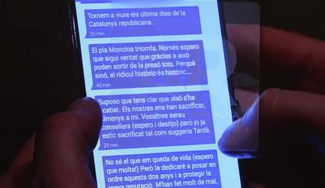 App recomanada per Snowden - L'aplicació utilitzada per Puigdemont i Comín es diu Signal Private Messenger i entre els usuaris figura l'exanalista de la CIA Edward Snowden, al ser la millor opció per salvaguardar la privacitat.