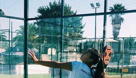 Laia Bonilla, jugadora lleidatana que subscriu la campanya.