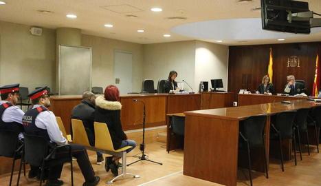 El judici per conformitat es va celebrar ahir a l'Audiència.