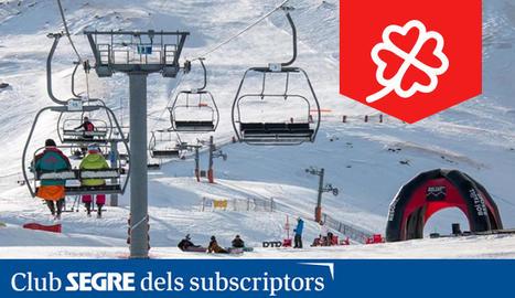 L'estació d'esquí alpí Boí Taüll.