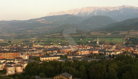 Una vista de la Seu d'Urgell