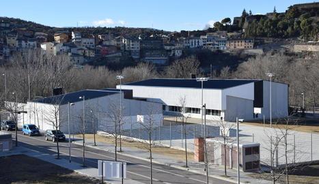 Imatge de l'institut La Valira de la Seu d'Urgell, on s'ha detectat el brot de sarna.