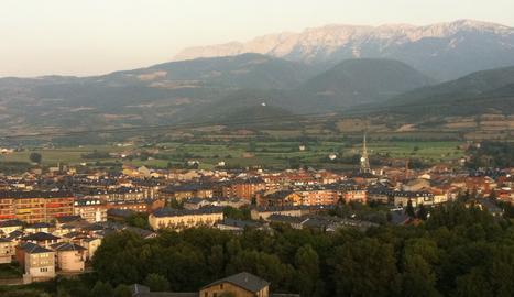 VIsta de la Seu d'Urgell