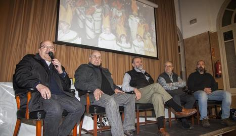 L'acte va tenir lloc ahir al migdia al local de la Societat Ateneu.