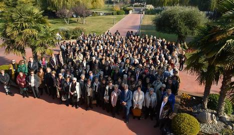La festa va reunir més de 350 dones de Bellvís i també de la resta de comarques de Lleida.