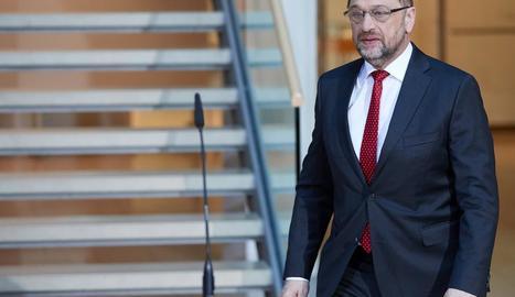 El líder del Partit Socialdemòcrata, Martin Schulz.