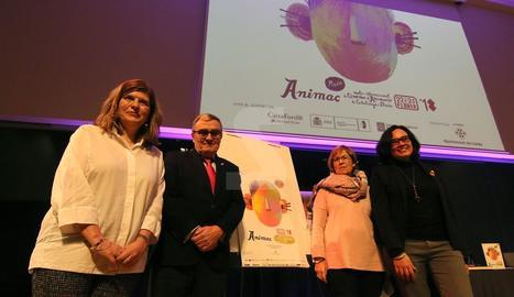 L'acte de presentació de l'Animac ha tingut a la Llotja.