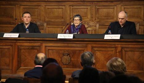 L'Aula Magna va acollir la sessió 'Podem prescindir de l'altre?'.