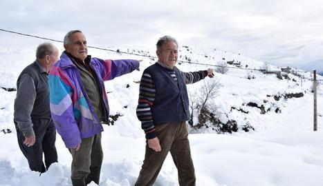 Martí Bentanachs i Rosa Coll, ahir a la casa rural que regenten.