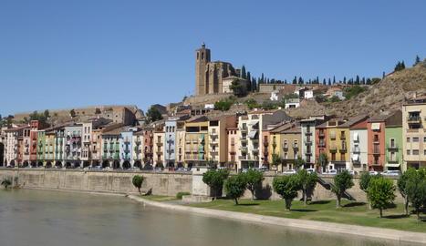 Imatge d'arxiu d'una vista de Balaguer.