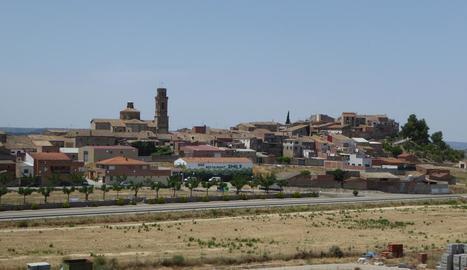 Imatge d'arxiu del poble de Maials.