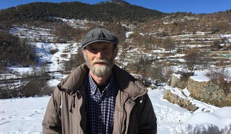 Pep Lizandra, un dels impulsors de la plataforma pirinenca que preveu acollir veïns de Múrcia.