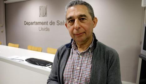 Imatge d'arxiu de vacunació de nens en un col·legi de Lleida.