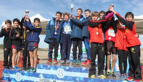 L'equip masculí sub-12 de l'AA Xafatolls es va proclamar a Mollerussa campió de Catalunya.