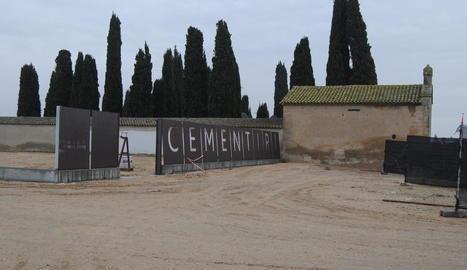 L'ampliació del cementiri del Palau.